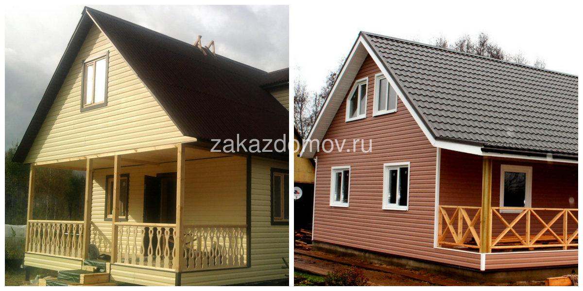 Каркасных домов бесплатно с фото